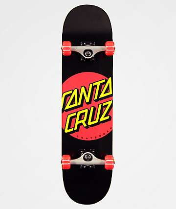 "Santa Cruz Red Dot 8.0"" Skateboard Complete"