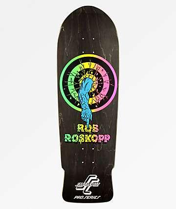 "Santa Cruz Roksopp Target 10.0"" Skateboard Deck"