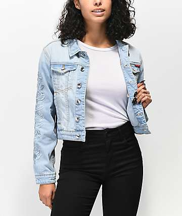 Santa Cruz Rosa Washed Denim Jacket