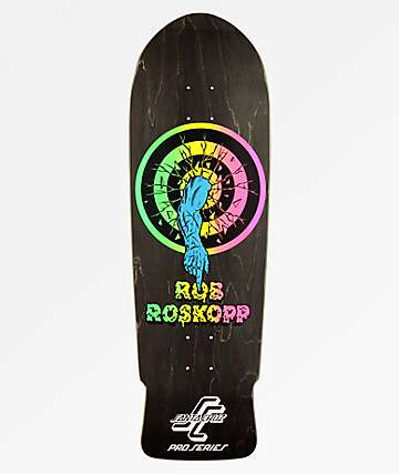"Santa Cruz Roskopp Target 10.0"" Skateboard Deck"