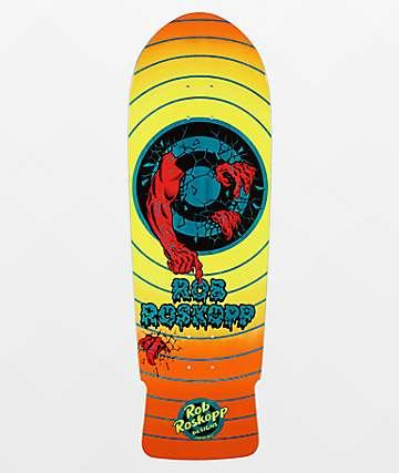 "Santa Cruz Roskopp Target Reissue 10.0"" Skateboard Deck"