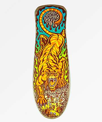 "Santa Cruz Salba Tiger 10.3"" Skateboard Deck"