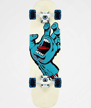 "Santa Cruz Screaming Hand 29.25"" Cruiser Complete Skateboard"