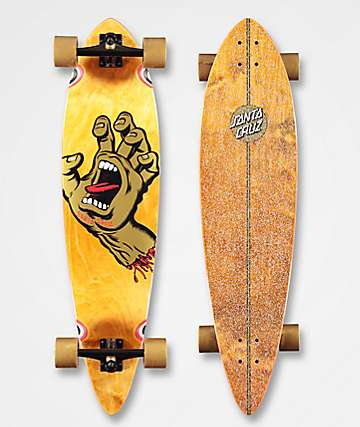 "Santa Cruz Screaming Hand 39"" Longboard Complete"