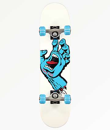 "Santa Cruz Screaming Hand 6.75"" Skateboard Complete"
