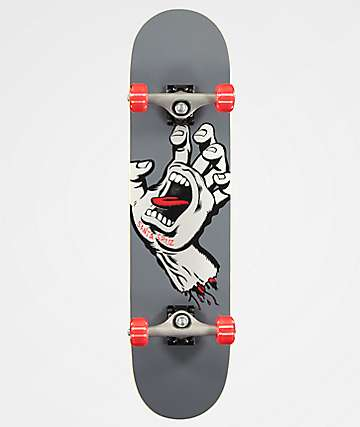 "Santa Cruz Screaming Hand 7.8"" Skateboard Complete"