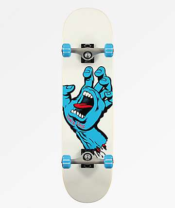 "Santa Cruz Screaming Hand 8.0"" Skateboard Complete"
