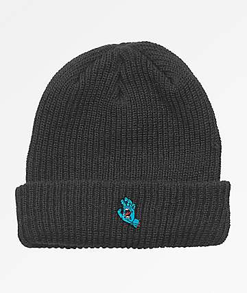 Santa Cruz Screaming Hand Black Beanie