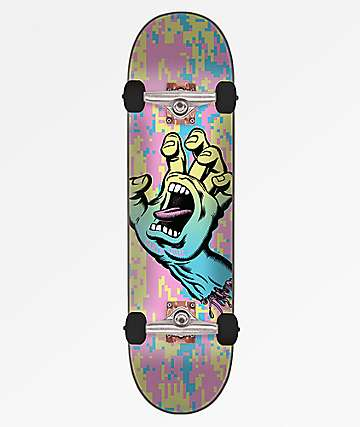 "Santa Cruz Screaming Hand Camo 8.0"" Skateboard Complete"