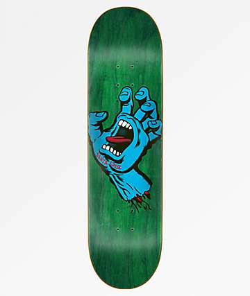 Santa Cruz Screaming Hand Hard Rock Maple 7.75 Skateboard Deck