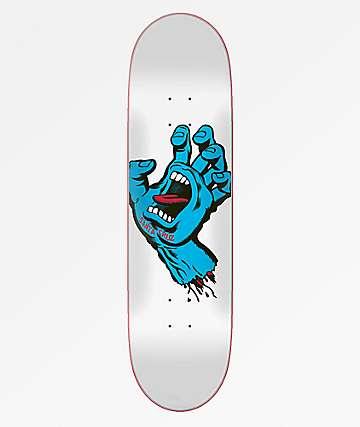 "Santa Cruz Screaming Hand Taper Tip 8.25"" Skateboard Deck"