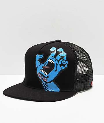 Santa Cruz Screaming Hand Trucker Hat