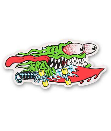 Santa Cruz Slasher Decal Sticker
