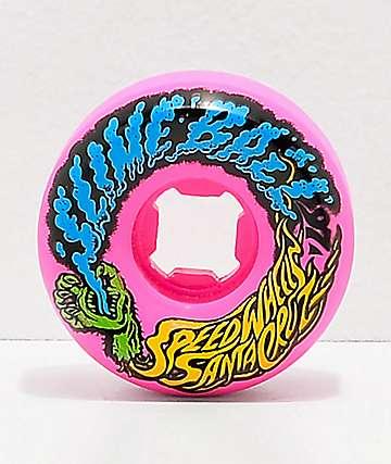 Santa Cruz Slime Balls 54mm Vomit Pink Skateboard Wheels