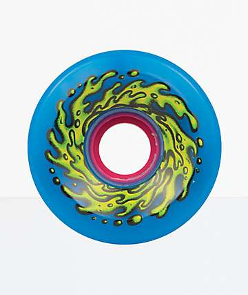 Santa Cruz Slime Balls OG 66mm 78a Blue Skateboard Wheels