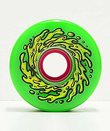 Santa Cruz Slime Balls OG 66mm 78a Green Longboard Wheels