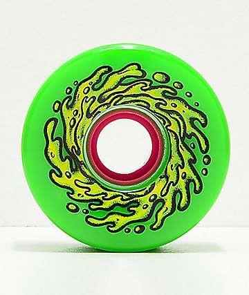 Santa Cruz Slime Balls OG 66mm 78a Green Longboard Wheels
