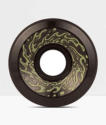 Santa Cruz Slime Balls OG Black Glow 60mm Cruiser Wheels