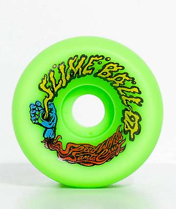 Santa Cruz Slime Balls Vomits 60mm Green Cruiser Wheels