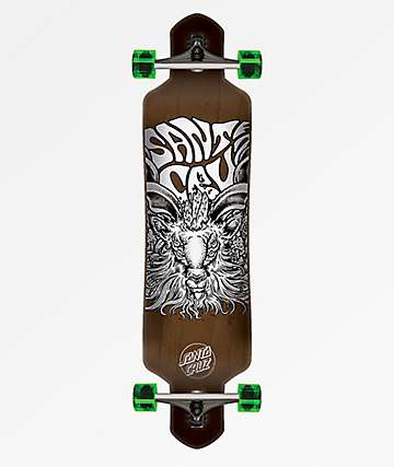 "Santa Cruz Summoner 9.2"" Drop Down Longboard Complete"