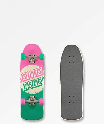 "Santa Cruz Switch Dot 8.4"" Cruiser Skateboard Complete"