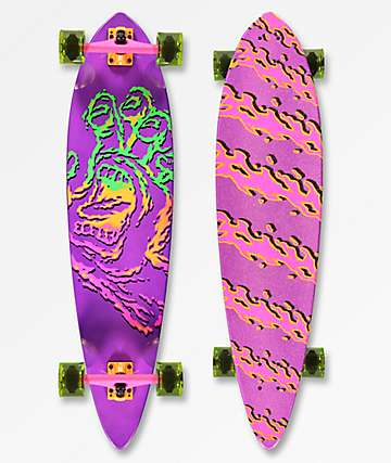 "Santa Cruz Throwdown Hand 39"" Longboard Complete"
