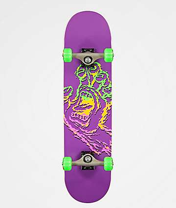 "Santa Cruz Throwdown Hand 7.75"" Skateboard Complete"