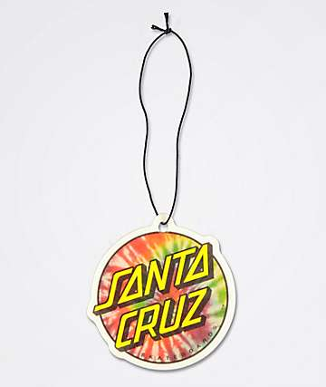 Santa Cruz Tie Dye Dot Air Freshener