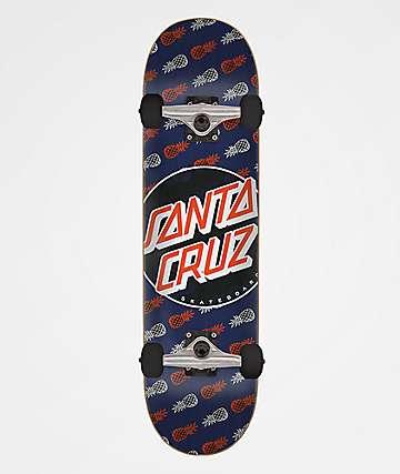 """Santa Cruz Tropic Dot 8.0"""" Skateboard Complete"""