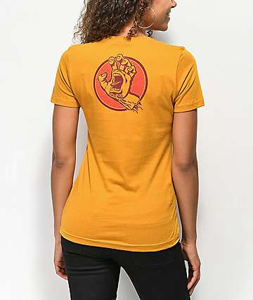 Santa Cruz Two Handled Gold T-Shirt