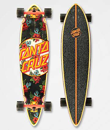 "Santa Cruz Vacation Dot 39"" Longboard Complete"