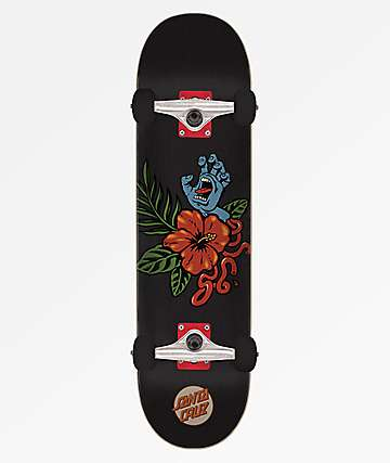"Santa Cruz Vacation Hand 8.0"" Skateboard Complete"