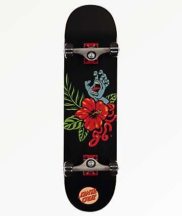 "Santa Cruz Vacation Hand 8.0"" Skateboard Complete"