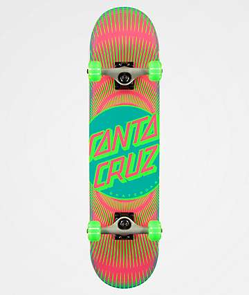"Santa Cruz Vertigo Ray Dot 7.75"" Skateboard Complete"