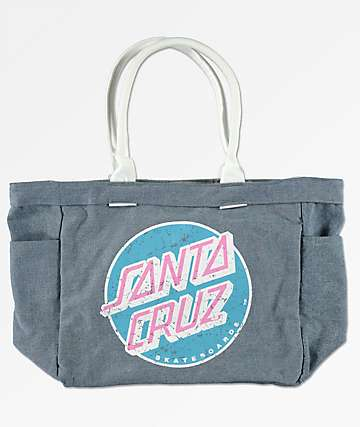 Santa Cruz Washed Denim Tote Bag
