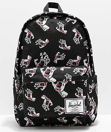 Santa Cruz x Herschel Classic Screaming Hand Backpack