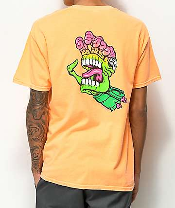 Santa Cruz x Mars Attacks Screaming Hand Mango T-Shirt