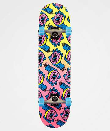 "Santa Cruz x Odd Future Donut Hand 8.0"" Skateboard Complete"