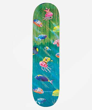 "Santa Cruz x SpongeBob SquarePants Bikini Bottom 8.25"" Skateboard Deck"
