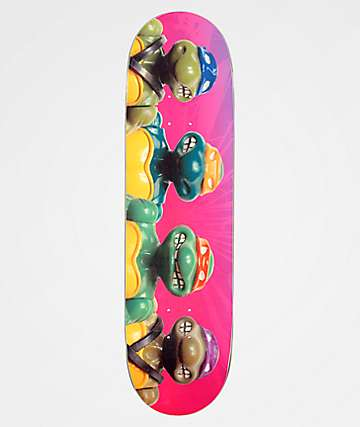 "Santa Cruz x TMNT Figures Everslick 8.5"" Skateboard Deck"