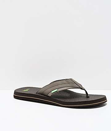 Sanuk Beer Cozy 2 Brindle Sandals