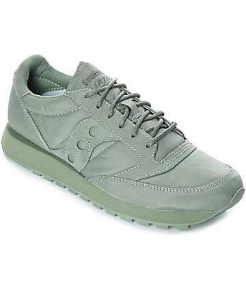 Saucony Jazz O Mono Green Shoes