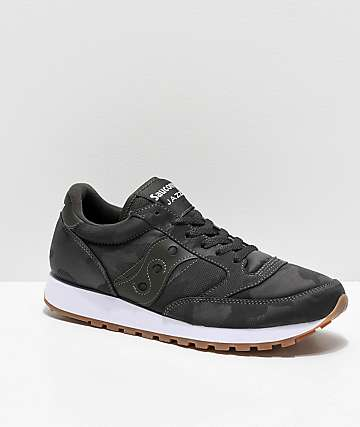 Saucony Jazz Original Charcoal Camo Shoes