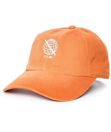 Sausage F.T.W. Orange Washed Baseball Hat