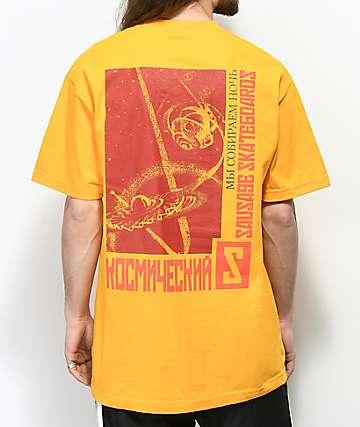 Sausage Kosmos camiseta dorada
