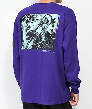 Sausage Montauk Project Purple Long Sleeve T-Shirt