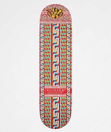"Sausage Pattern 8.25"" Skateboard Deck"