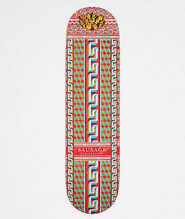 "Sausage Pattern 8.25"" tabla de skate"