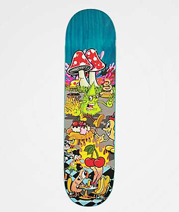 "Sausage Staycation 8.5"" Skateboard Deck"