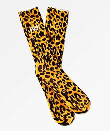 Scum Feline Yellow Crew Socks